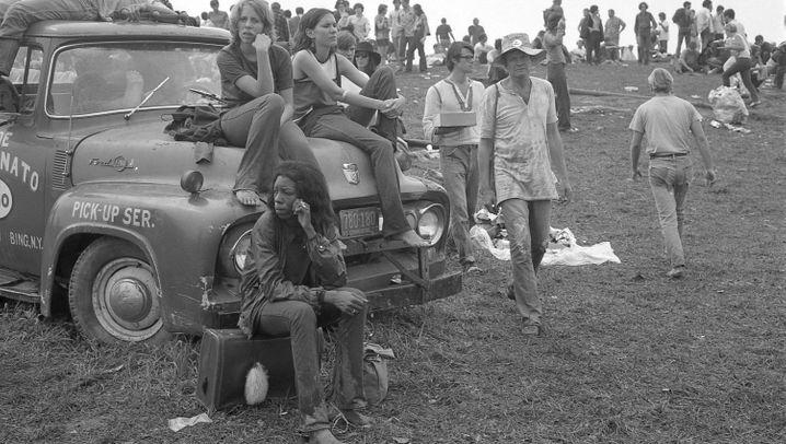 50 Jahre Woodstock: Schlamm, Marihuana, Kuhmist