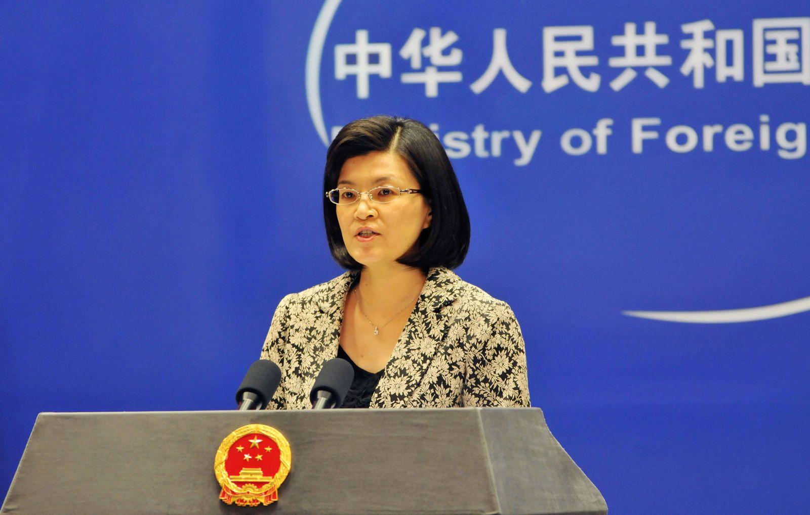 Chinesische Außenamtssprecherin Jiang Yu
