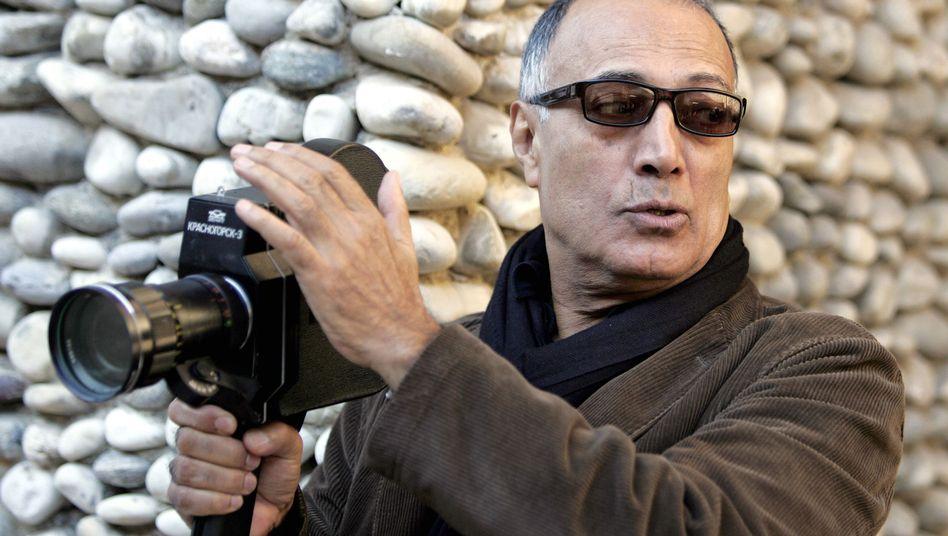 Abbas Kiarostami 2007 in Nizza