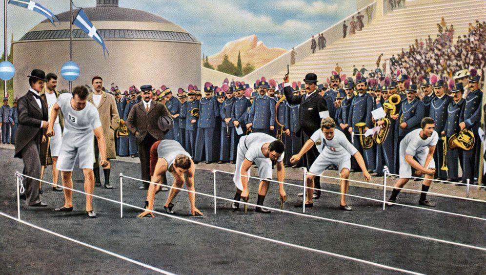 Olympia 1896 in Athen: Rückkehr des antiken Sportspektakels