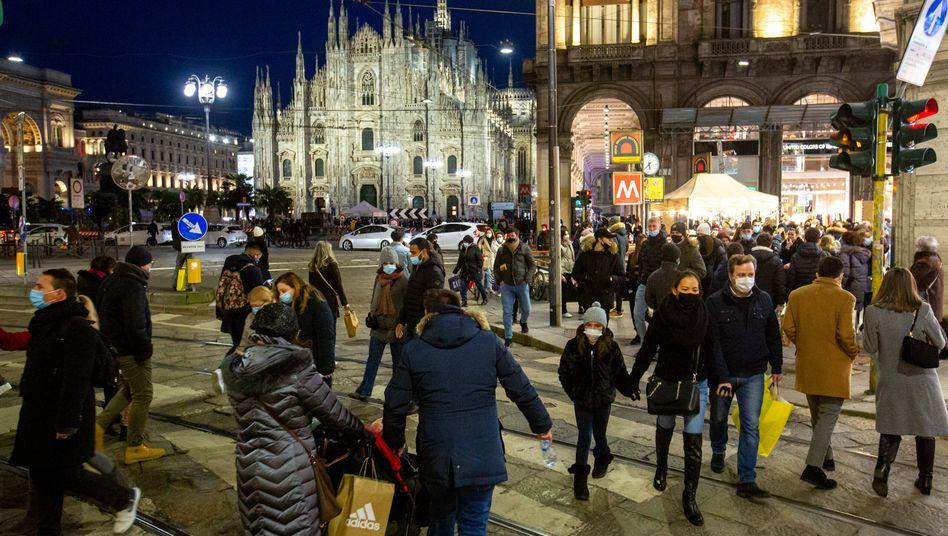 Zentrum von Mailand in Italien: »Ältester Nachweis einer Sars-CoV-2-Infektion in einem menschlichen Wesen«