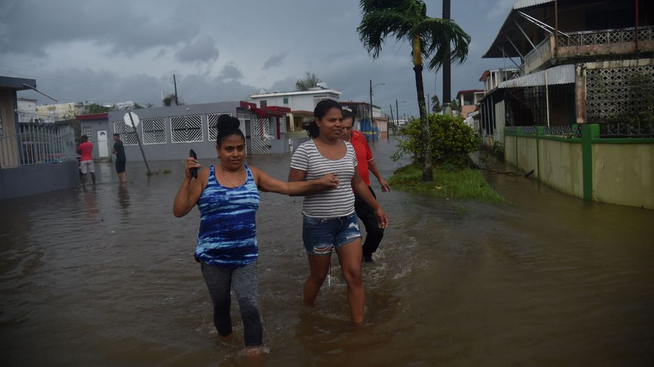 "Nach Hurrikan ""Maria"": Puerto Rico"