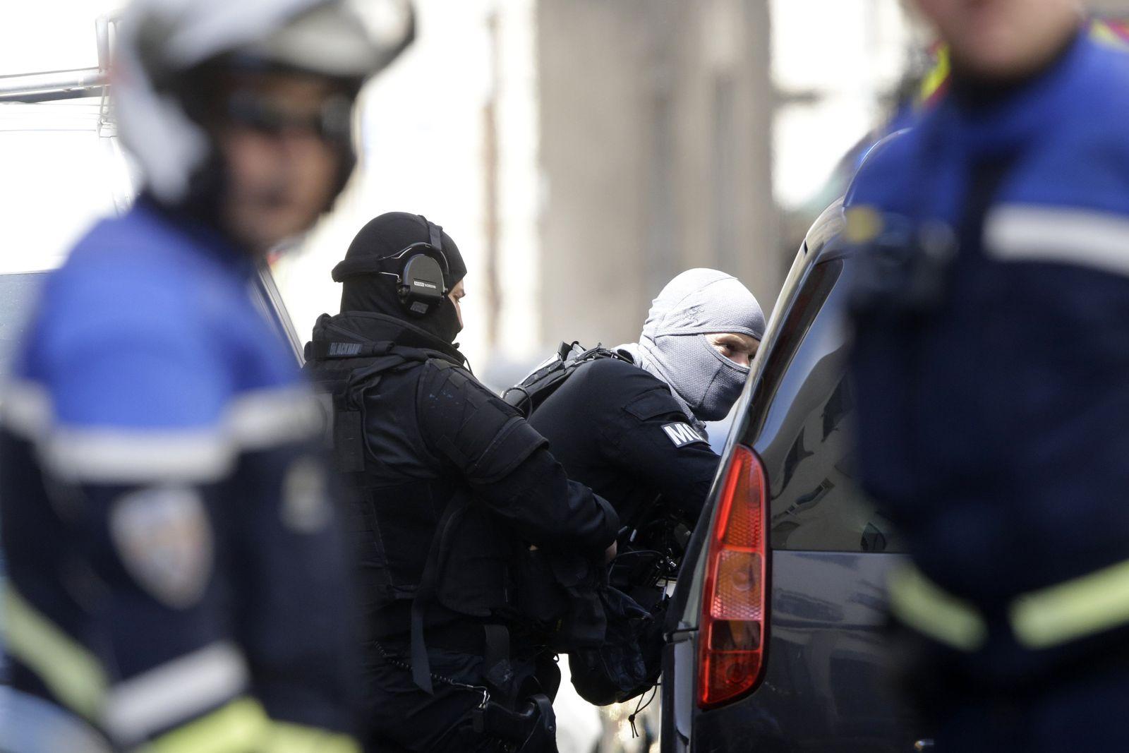 Verhaftungen / Marseille