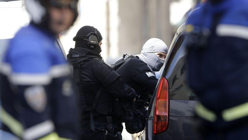 Festnahmen in Marseille