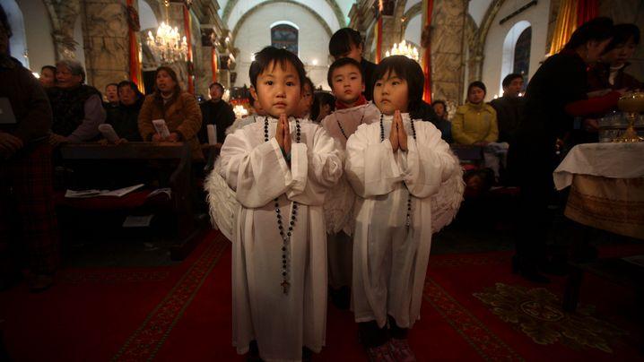 """Christen in China: """"Wir sind ja keine schlechten Menschen"""""""