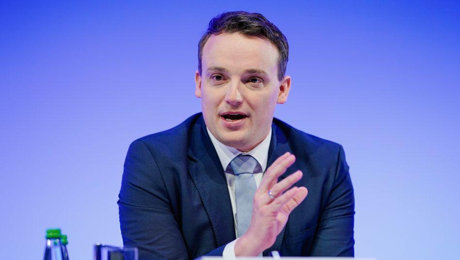 Neuer, alleiniger SAP-Vorstandsvorsitzender Klein: Ein Fünftel des Festgehalts für den SAP Solidarity Fund