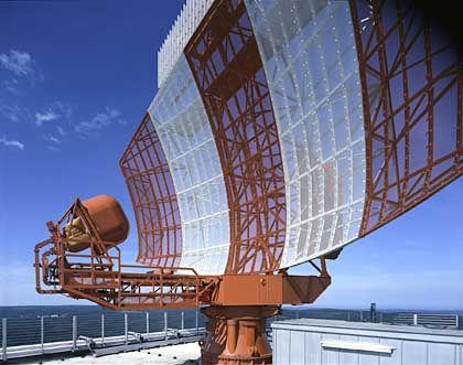 Radarstation: Kollege der Centerlotsen