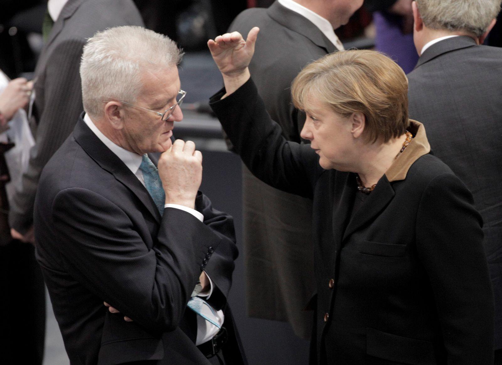 Merkel / Kretschmann