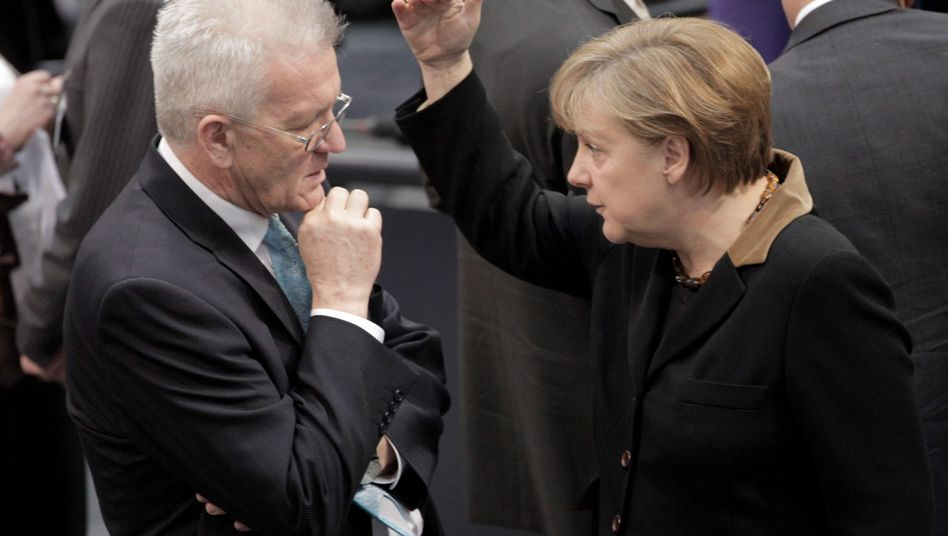 Kretschmann, Merkel: Man kann in der Politik nicht nur auf Sicht fahren