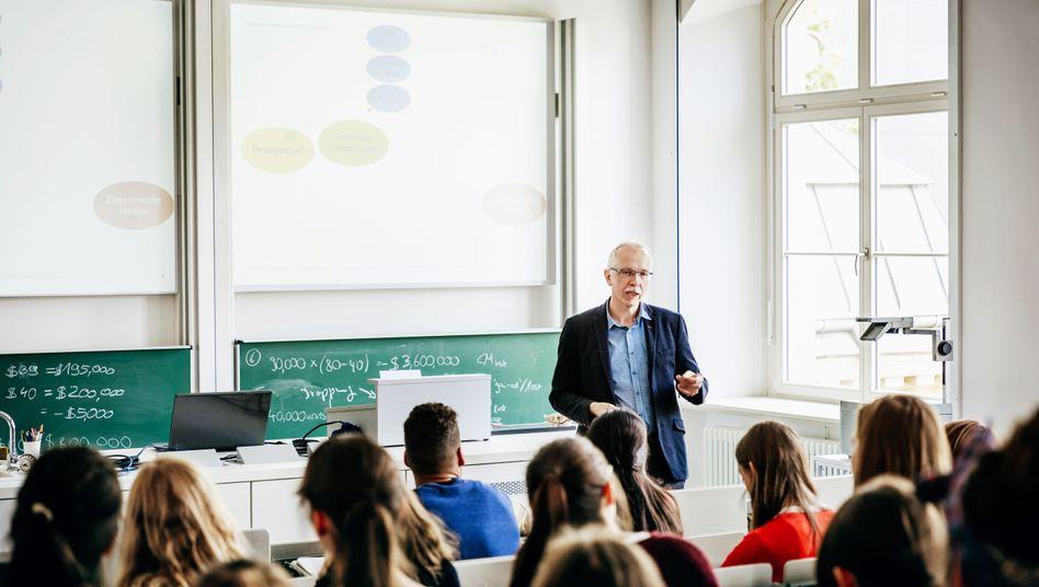 Vortrag an einer Universität (Symbolbild)