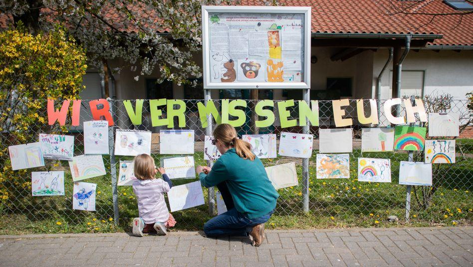 Geschlossene Kindertagesstätte in der Region Hannover
