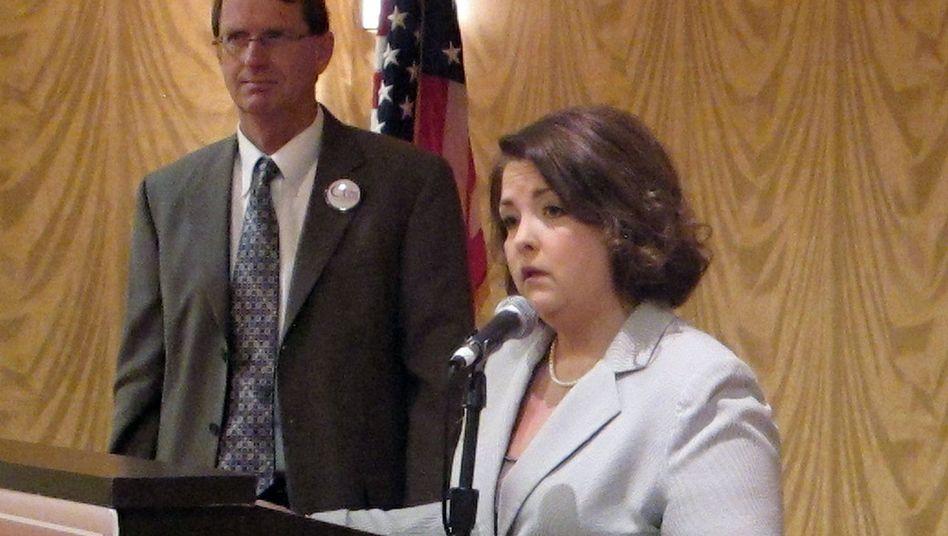 Tea-Party-Anführerin Amy Kremer: Aktionistin gegen Gesundheitsreform