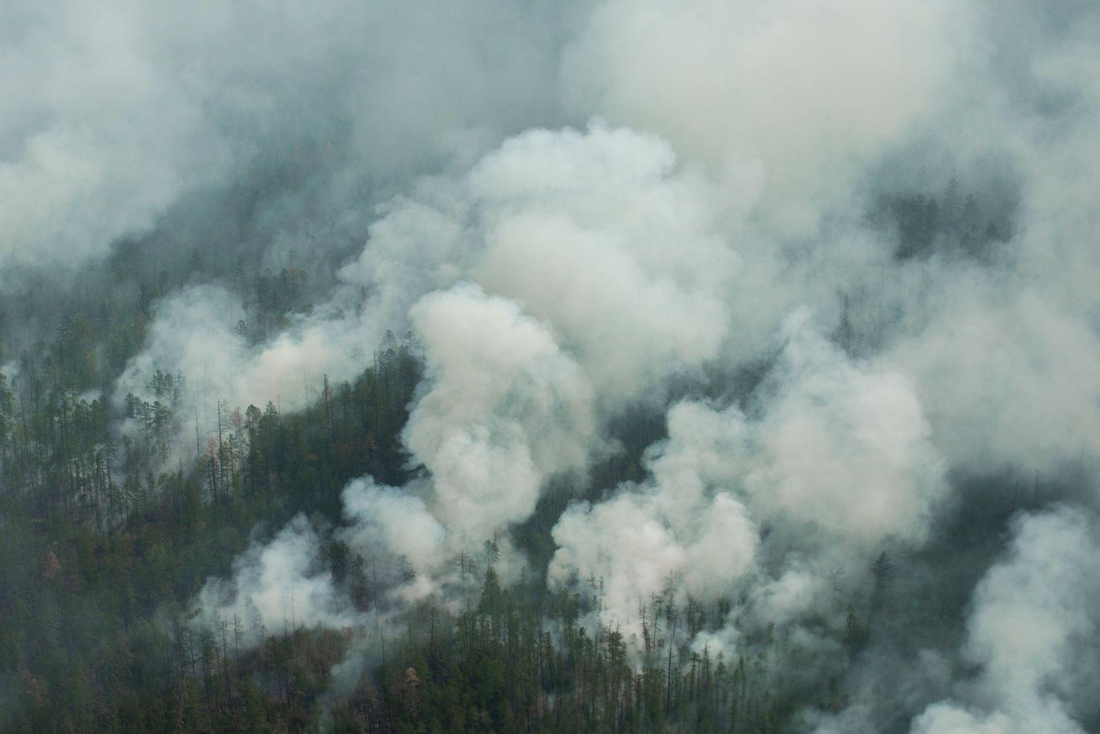 JAKUTIEN Waldbrände