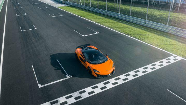 Autogramm McLaren 600 LT: Schneller!