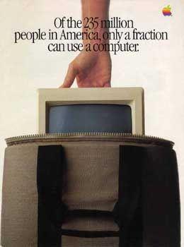 Deckblatt der Apple-Anzeige 1984