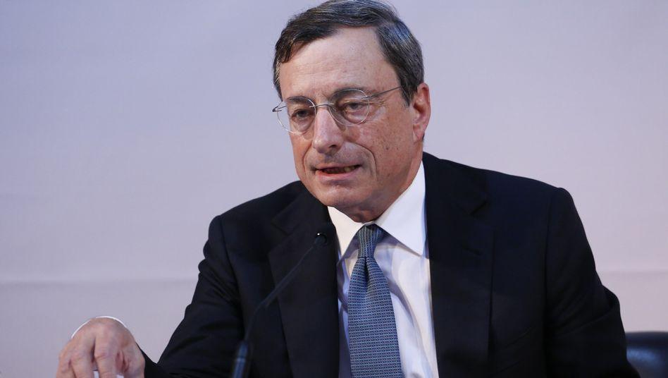 EZB-Chef Draghi: Durch Exportboom aus der Dauermalaise