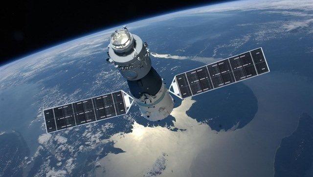 """""""Tiangong-1"""" im All (grafische Darstellung)"""
