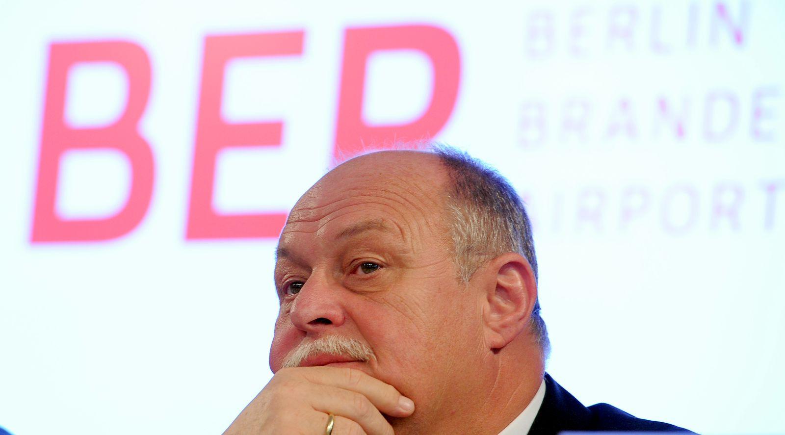 Technikchef des Hauptstadtflughafens Horst Amman