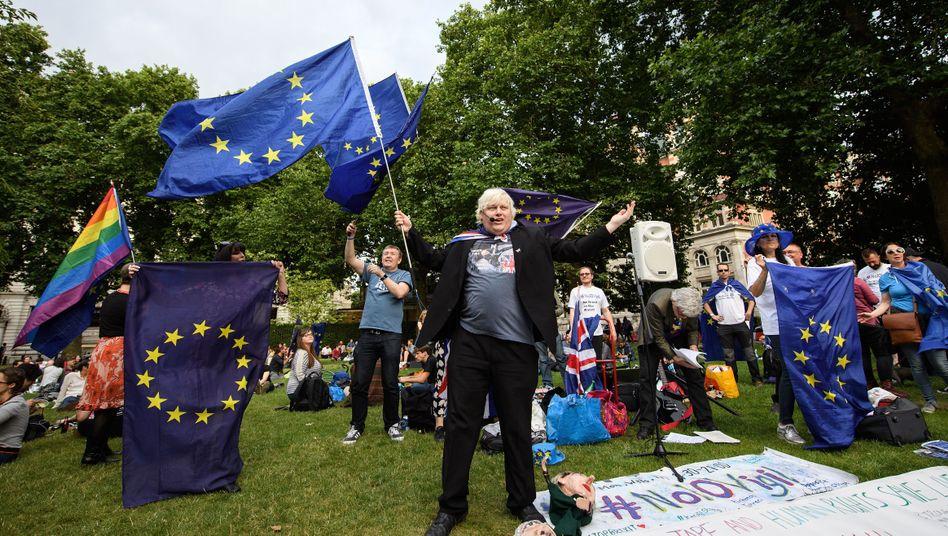 Anti-Brexit-Demonstration in London (Archivaufnahme)