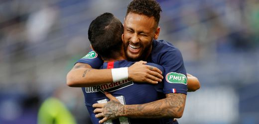 PSG feiert nach vier Monaten Pause Comeback mit Pokalsieg