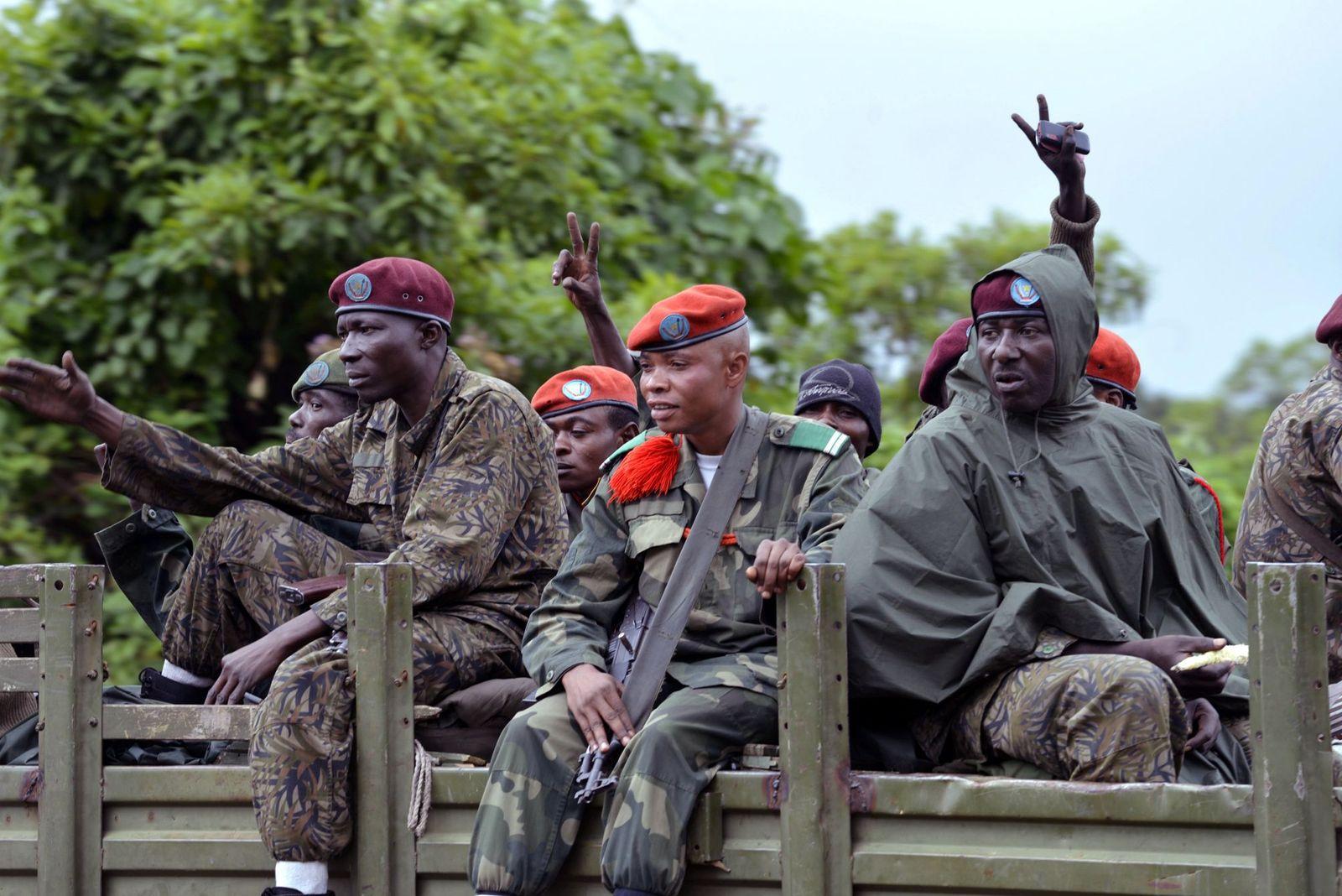 Kongo / Regierungssoldaten