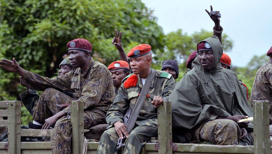 Regierungssoldaten im Kongo: Sieg über die Rebellen