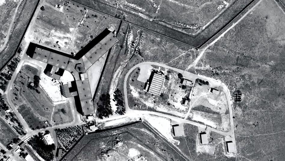Militärgefängnis Sednaja in Syrien