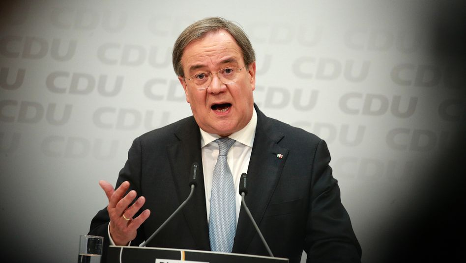 Neuer CDU-Chef Armin Laschet: »Die Union war immer die Partei solider öffentlicher Haushalte«