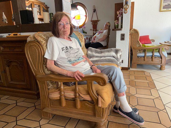 Jutta Schelleckes in der Seniorenresidenz in Mogendorf: »Zuerst Corona und dann das – das braucht doch kein Mensch«