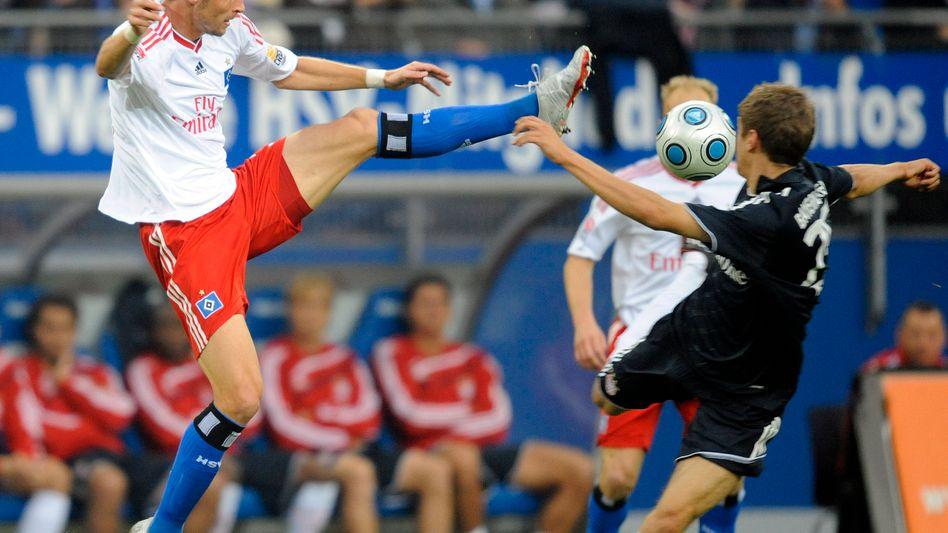Abwehrspieler Rozehnal (l.): Ab sofort im Kader des OSC Lille