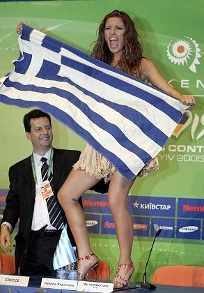 Gewinnerin Helena Paparizou: 12 Punkte aus der Türkei