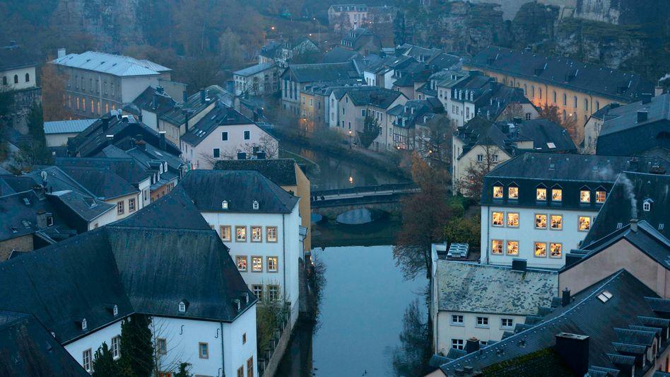 Innenstadt von Luxemburg (Archivbild): 55.000 Kunden betroffen