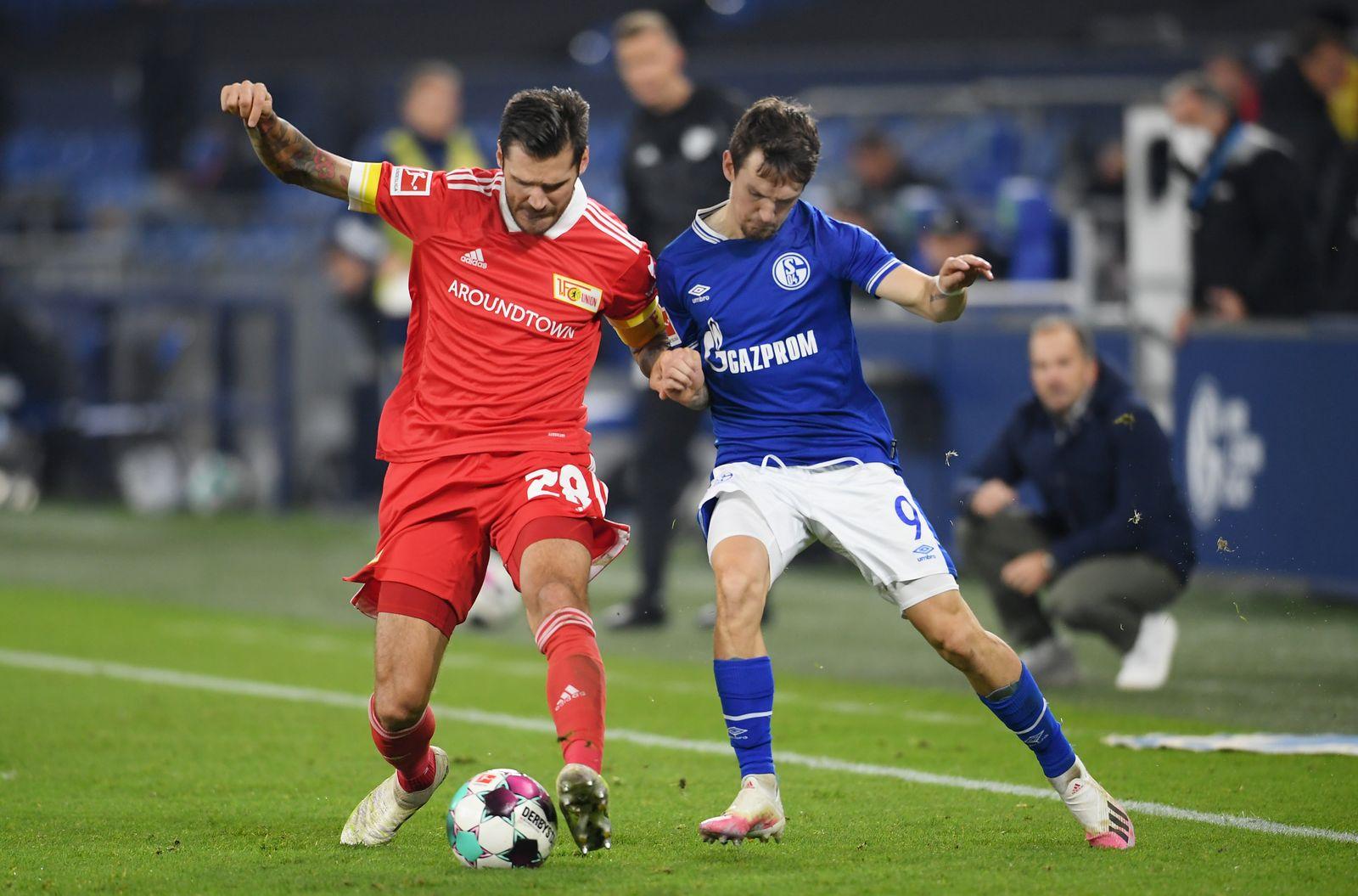 FC Schalke 04 v 1. FC Union Berlin, Gelsenkirchen, Germany - 18 Oct 2020