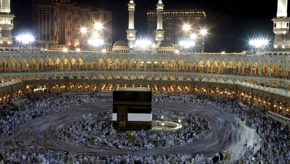 Kaaba und Große Moschee in Mekka