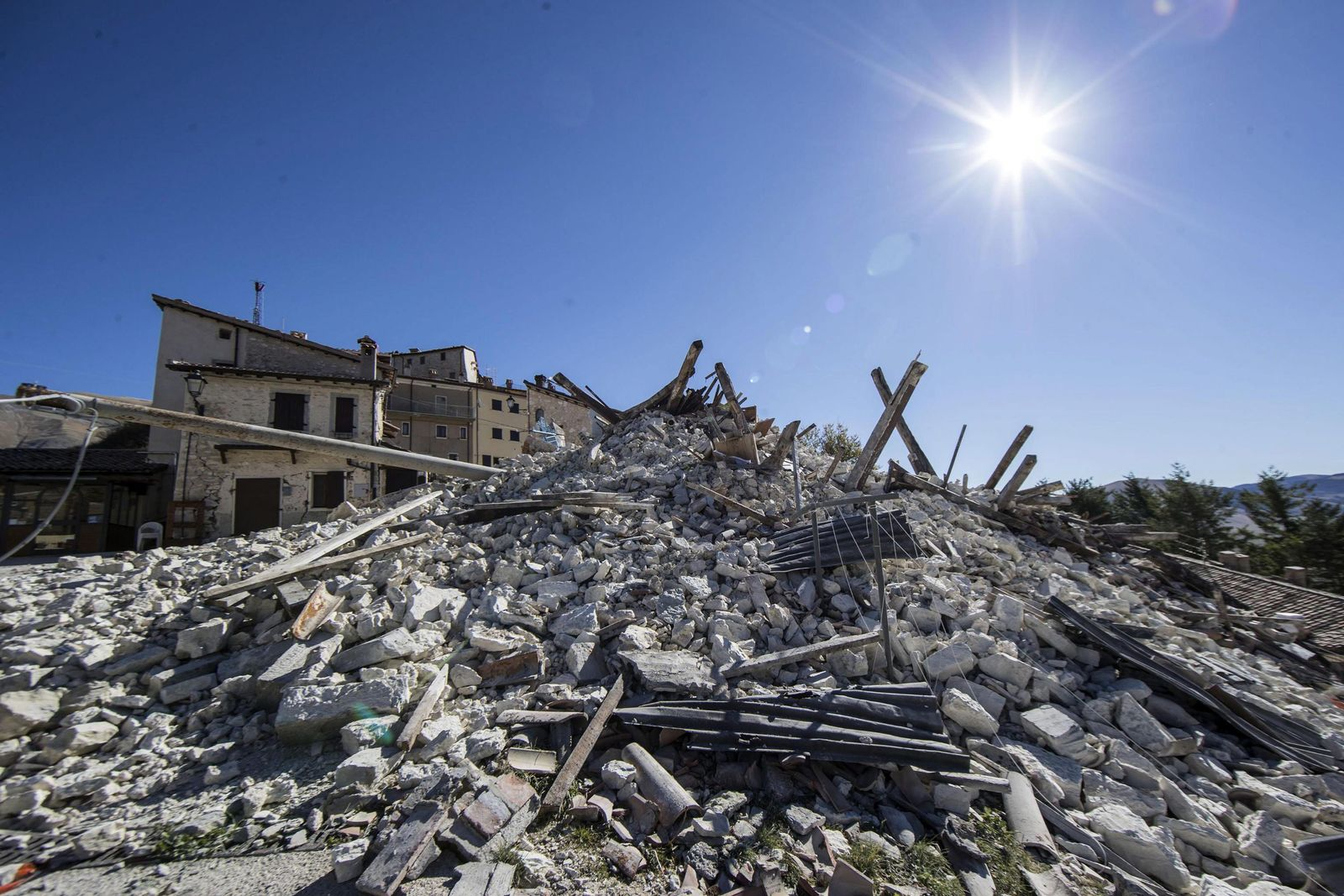 Quake in Central Italy
