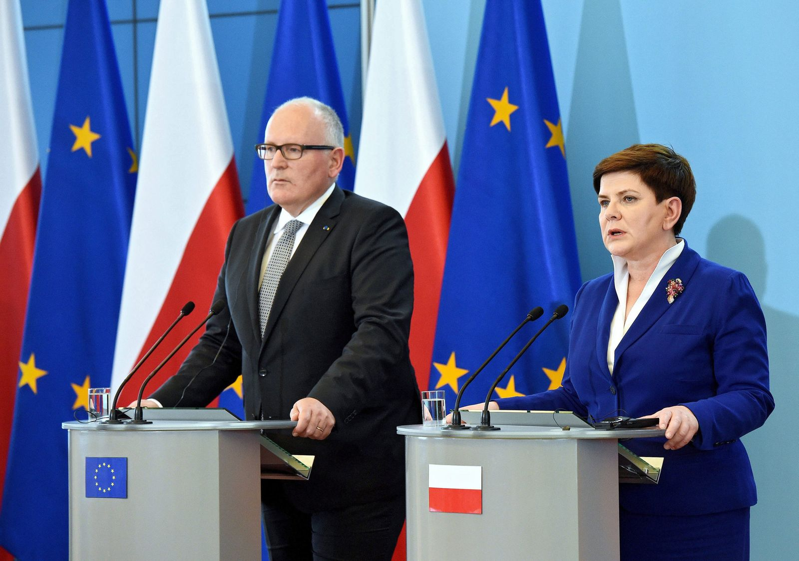 European Commission First Vice-President Frans Timmermans in Pola