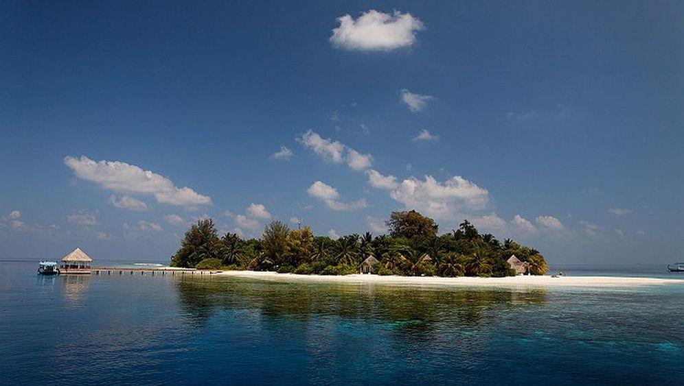 Malediven-Tauchertraum: Ein Klecks im Indischen Ozean