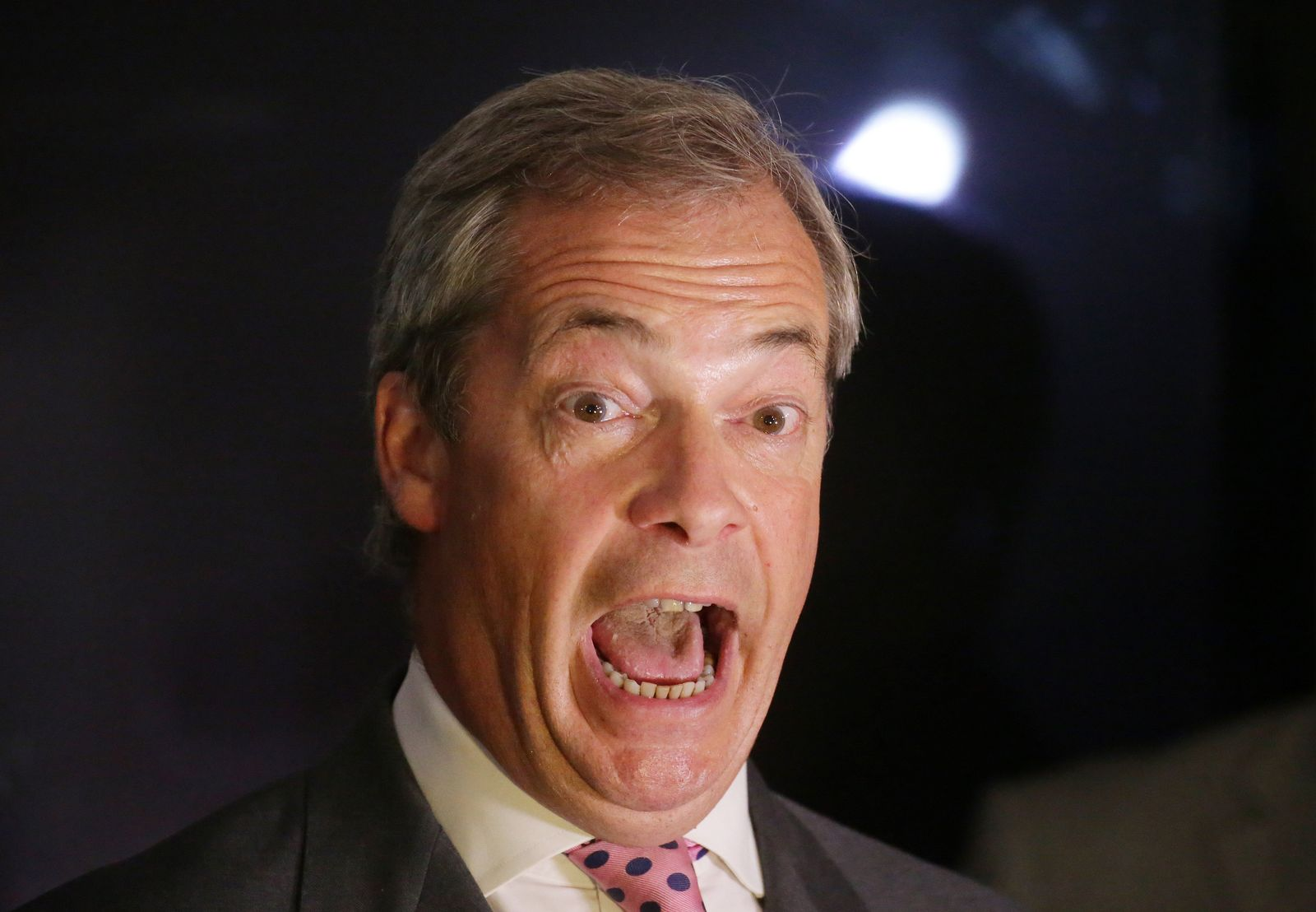 Nigel Farage Wahlparty