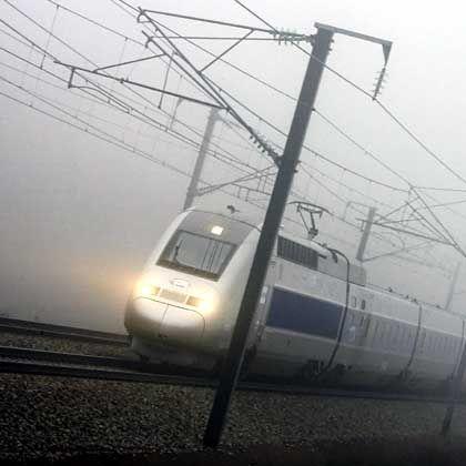 Neuer Geschwindigkeitsrekord: TGV auf der Strecke Paris-Straßburg