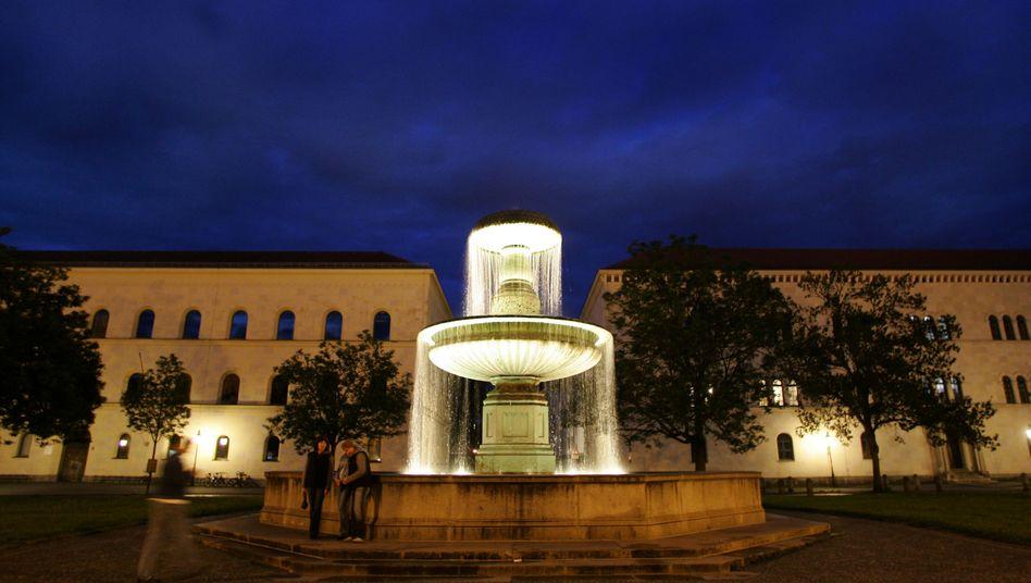 Begehrtes Studier- und Klageziel: München und seine Ludwig-Maximilians-Universität