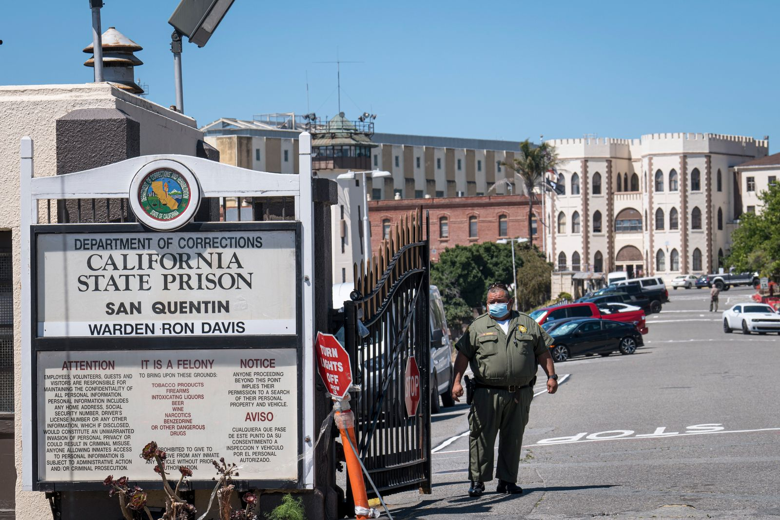 Covid-19 Explodes At California's San Quentin State Prison