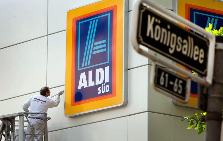Aldi-Filiale in Düsseldorf: Unternehmensanteile fest in Stiftungen verankert
