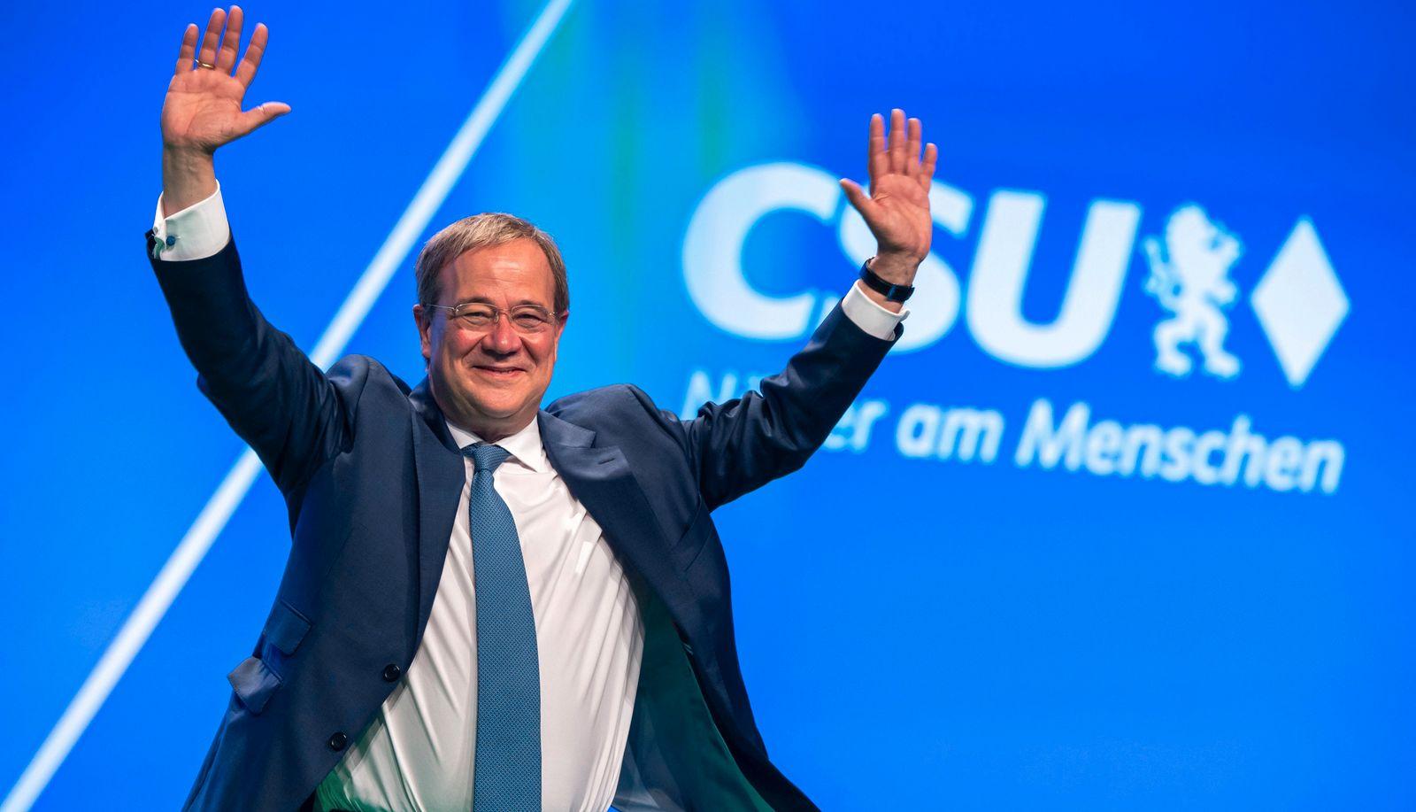 Abschluss Parteitag der CSU