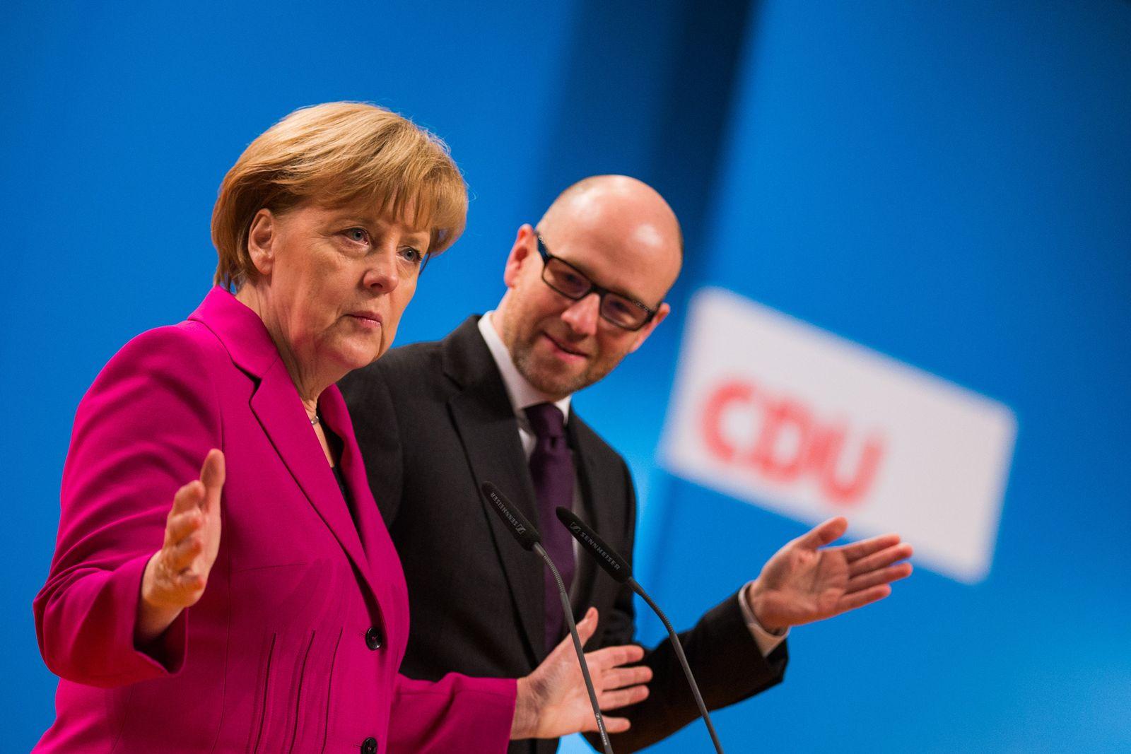Merkel/ CDU-Bundesparteitag