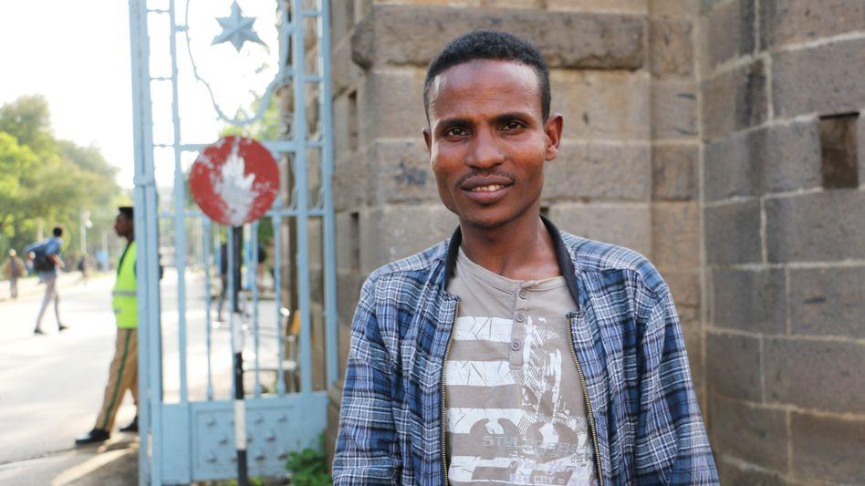 """Behinderte Menschen in Äthiopien: """"Wenn sie mich sehen, war's das"""""""
