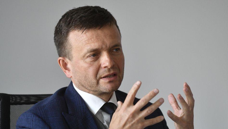 Jaroslav Hascak, einer der reichsten und einflussreichsten Männer der Slowakei