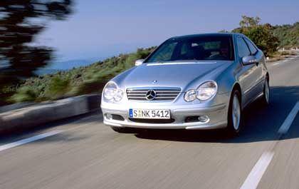 Mercedes C-Klasse Sportcoupé: Von null auf hundert in 11,7 Sekunden