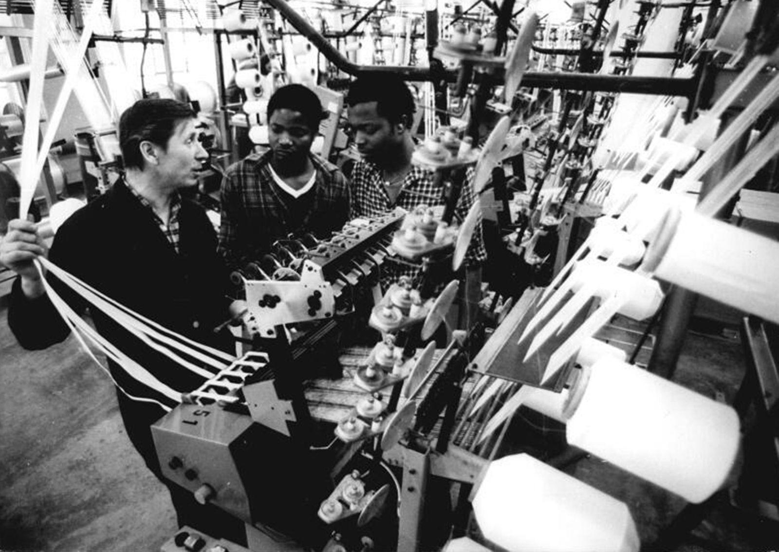 Pulsnitz, Gastarbeiter aus Mosambik