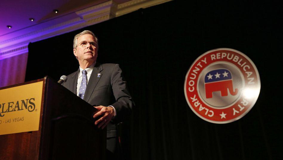Jeb Bush: Mit dem Wissen von heute sei der Irak-Einmarsch nicht zu rechtfertigen