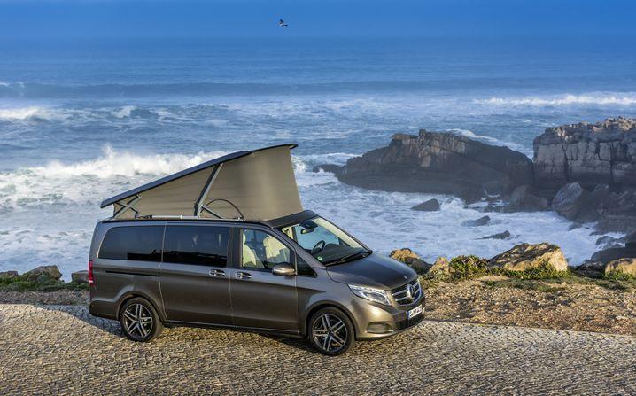 Mercedes Marco Polo: Edles Reisemobil soll California-Käufer betören